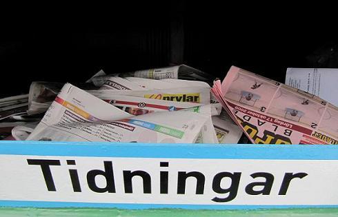 Överlever tidningsinsamlingens ointelligenta insamlingslådor nyheten