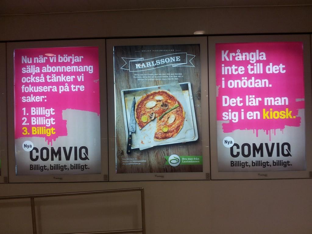 Reklam för Comviq 2012