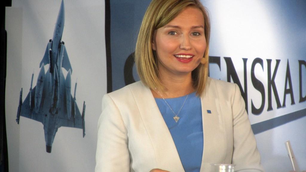 Kristdemokraternas Ebba Busch Thor.
