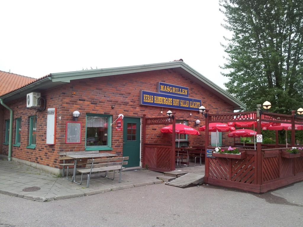 Masgrillen vid Dalahästen utanför Avesta 26 juni 2013.