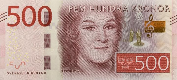 Den nya 500-kronorssedeln