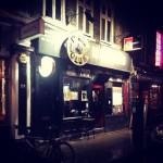 The 12 bar igår kväll, vid stängningsdags den sista kvällen. Foto: Phil Powell.