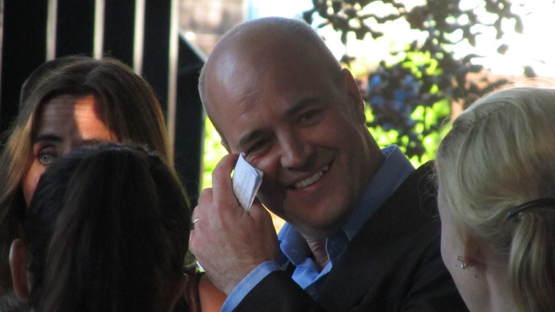 Fredrik Reinfeldt i Almedalen 2011. (Foto: Robert Hultman)
