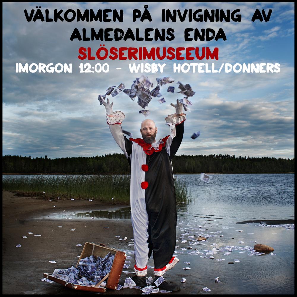 Martin Borgs satte sprätt på 20 000 kronor på Donenrs Plats.