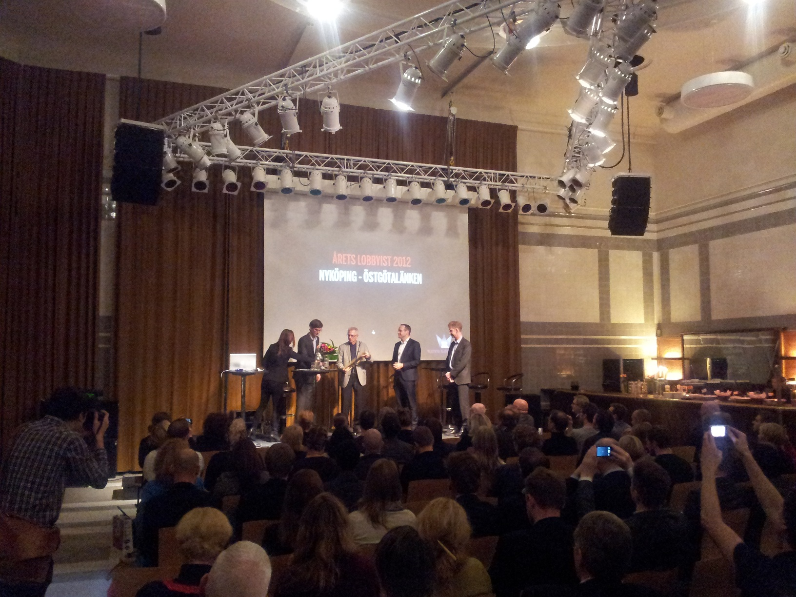 Årets Lobbyist - Prisutdelning Bryggarhuset Stockholm