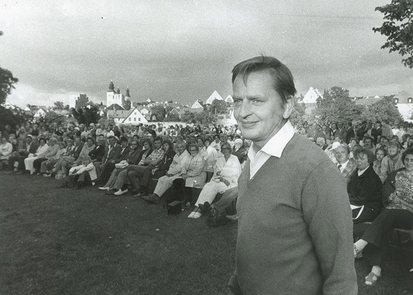 Olof Palme i Almedalen